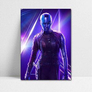 Poster A4 Avengers Infinity War - Nebula