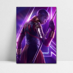 Poster A4 Avengers Infinity War - Okoye