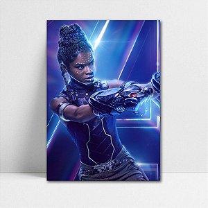 Poster A4 Avengers Infinity War - Shuri