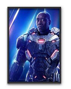 Poster A4 Avengers Infinity War - War Machine