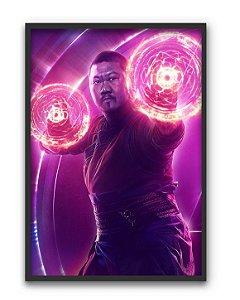 Poster A4 Avengers Infinity War - Wong