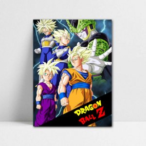 Poster A4 Dragon Ball Z - Cell Games