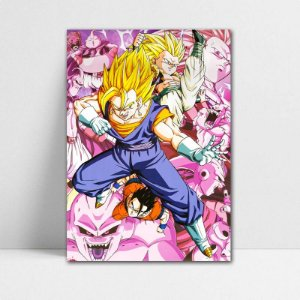 Poster A4 Dragon Ball Z - Vegetto e Gotenks