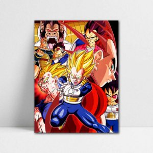 Poster A4 Dragon Ball Z - Vegeta Super Saiyan