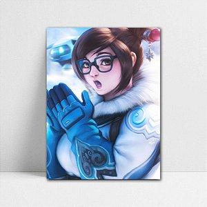 Poster A4 Overwatch - Mei Ling Zhou