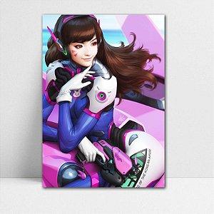 Poster A4 Overwatch - D.VA
