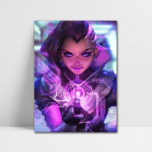 Poster A4 Overwatch - Sombra