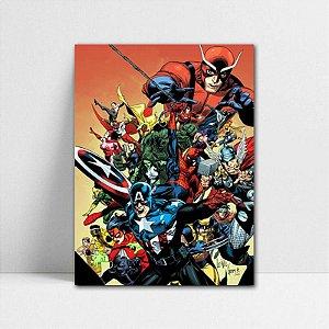 Poster A4 Marvel - The New Avengers Secret Invasion