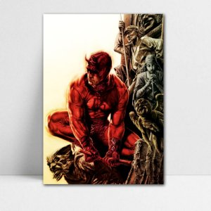 Poster A4 Marvel - Demolidor Red Fear