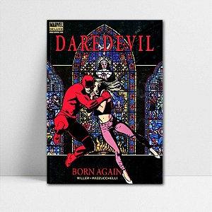 Poster A4 Marvel - Daredevil Born Again