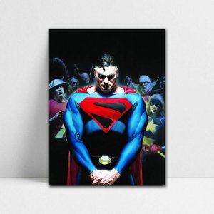 Poster A4 DC - Tomorrow Superman