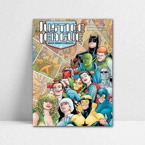 Poster A4 DC - Justice League International