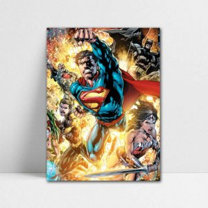 Poster A4 DC - Justice League New 52