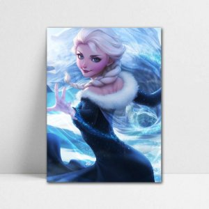 Poster A4 Disney - Beauty Elsa Frozen