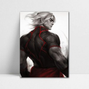 Poster A4 Street Fighter - Ken Masters