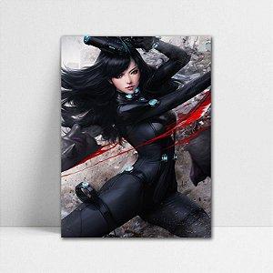 Poster A4 Gantz - Reika Shimohira