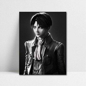 Poster A4 Shingeki no Kyojin - Levi Rivaille
