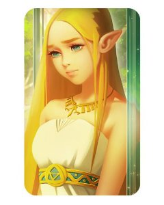 Ímã Decorativo Princesa Zelda - The Legend of Zelda - IZE02