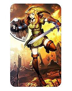 Ímã Decorativo Link - The Legend of Zelda - IZE10