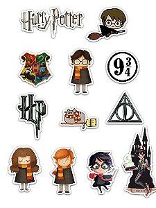 Ímãs Decorativos Harry Potter Set A - 12 unid