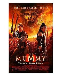 Ímã Decorativo Pôster A Múmia: Tumba do Imperador Dragão - IPF09