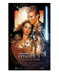 Ímã Decorativo Pôster Star Wars Ataque dos Clones - IPF559
