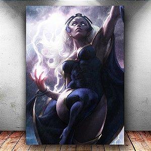 Placa Decorativa MDF Storm X-men - Marvel - PMDF51