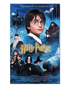 Ímã Decorativo Pôster Harry Potter e a Pedra Filosofal - IPF479