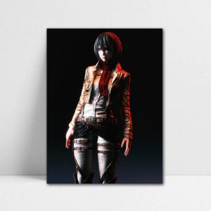 Poster A4 Mikasa - Shingeki no Kyojin - PSK05