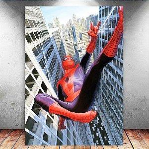 Placa Decorativa MDF Spider-Man - Marvel - PMDF125