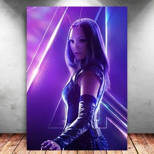 Placa Decorativa MDF Mantis Avengers Infinity War - Marvel