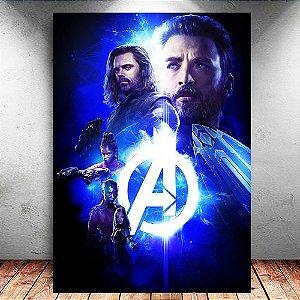Placa Decorativa MDF Avengers Infinity War - Marvel - PMDF137