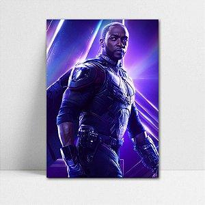 Poster A4 Avengers Infinity War - Falcão