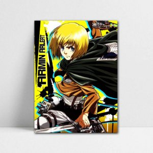 Poster A4 Armin - Attack on Titan - PT80