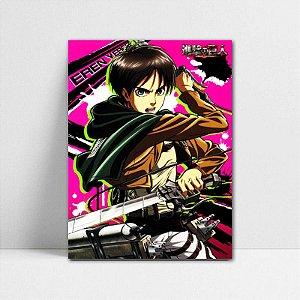 Poster A4 Eren - Attack on Titan - PT81