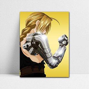 Poster A4 Edward Elric - Fullmetal Alchemist - PT93
