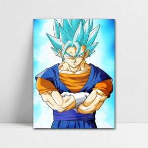 Poster A4 Vegetto Blue - Dragon Ball - PT102