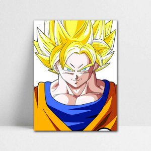Poster A4 Goku SSJ - Dragon Ball - PT104