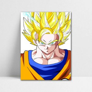 Poster A4 Goku SSJ 2 - Dragon Ball - PT105