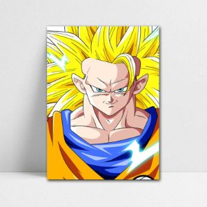 Poster A4 Goku SSJ 3 - Dragon Ball - PT106