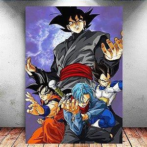 Placa Decorativa MDF Dragon Ball Super - PMDF110