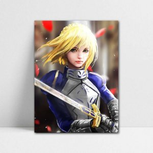 Poster A4 Saber - Fate/Stay Night - PT113
