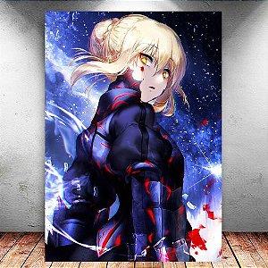 Placa Decorativa MDF Saber - Fate/Grand Order - PMDF115