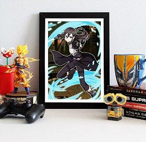 Quadro Decorativo Kirito - Sword Art Online - QV167