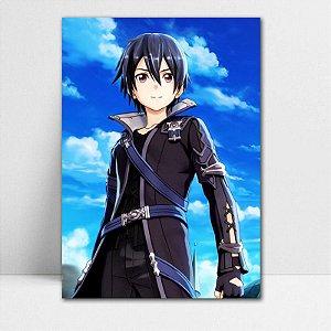 Poster A4 Kirito - Sword Art Online - PT177