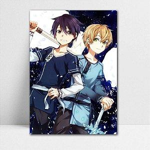 Poster A4 Kirito e Eugeo - Sword Art Online - PT182