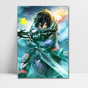Poster A4 Kirito - Sword Art Online - PT184