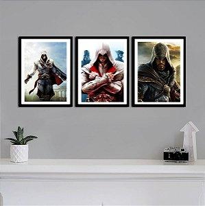 Kit Quadro Decorativo Ezio Trilogy - Assassin's Creed - KQV05