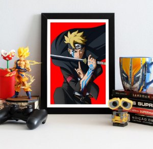 Quadro Decorativo Boruto - Naruto - QV208