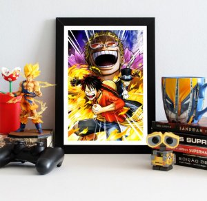 Quadro Decorativo One Piece - QV210